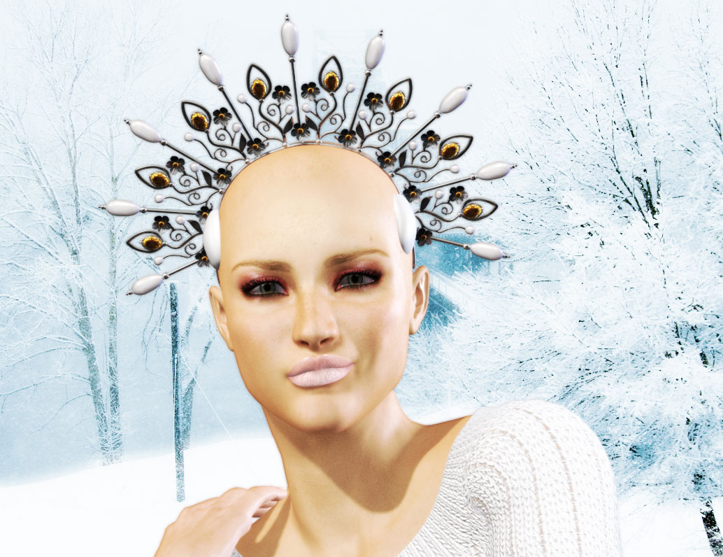 The Baldazzled Ice Queen