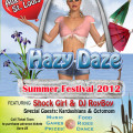 Hazy Daze Summer Festival 2012