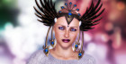 The Phoenix – this electrified head fashion will spark up the shock therapy room